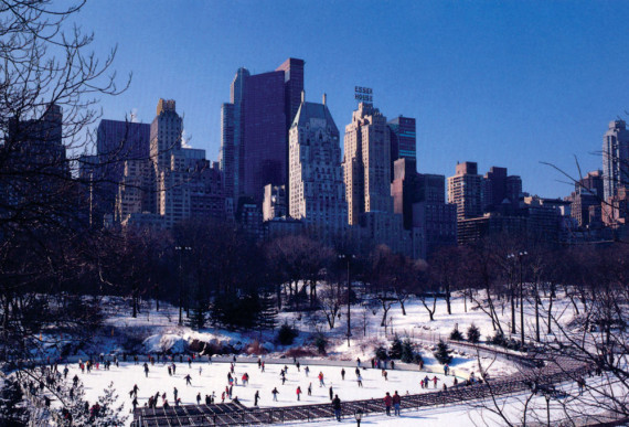 Wollman rink (southwest view)