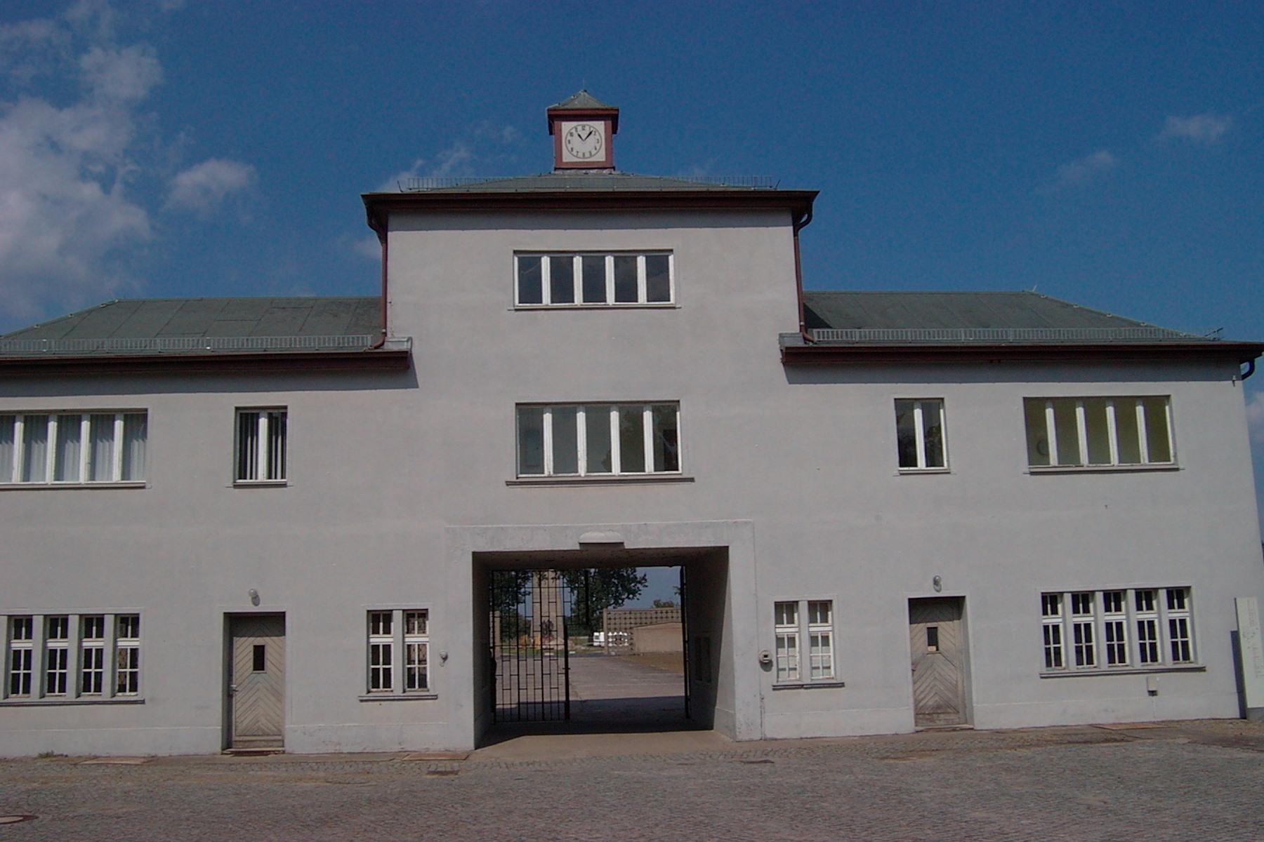 guidade turer i Sachsenhausen koncentrationsläger utanför Berlin