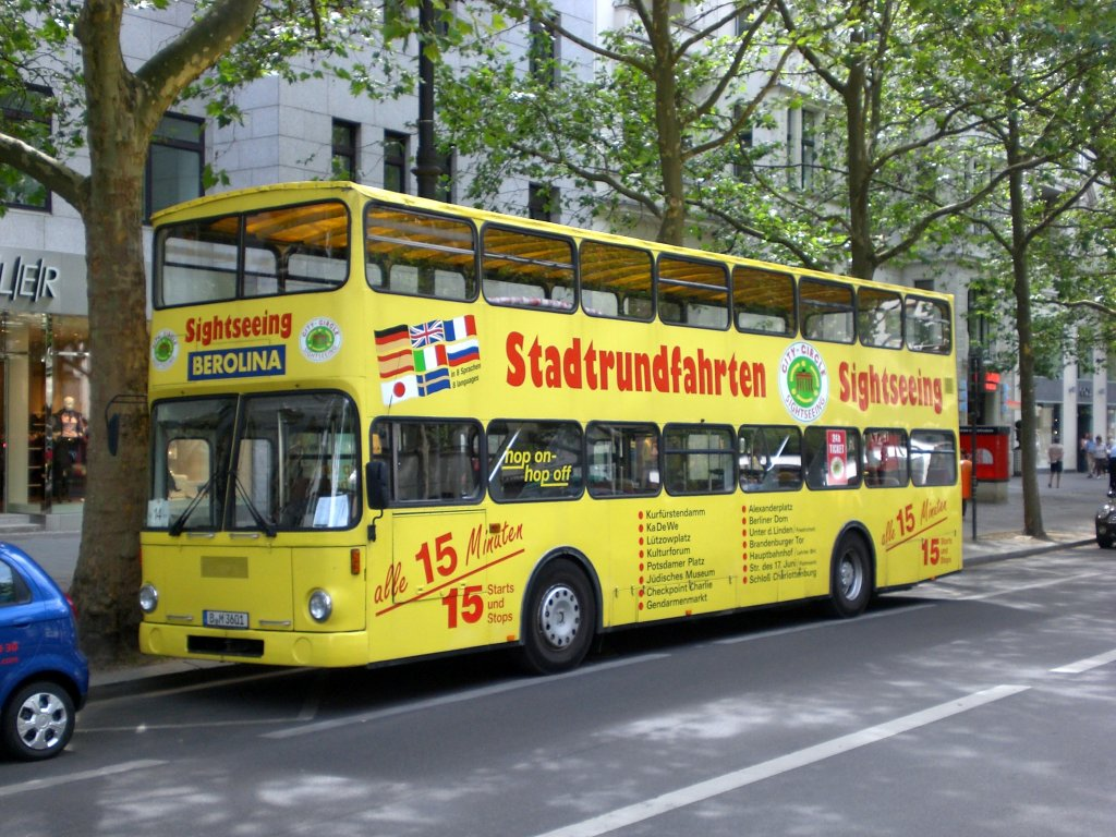 Berlin sightseeing buss